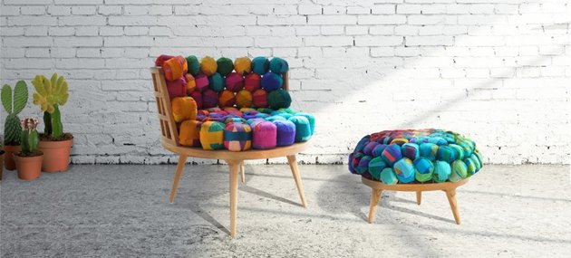 recycled silk furniture by meb rure 2 thumb 630x285 18258 Recycled Silk Furniture by Meb Rure