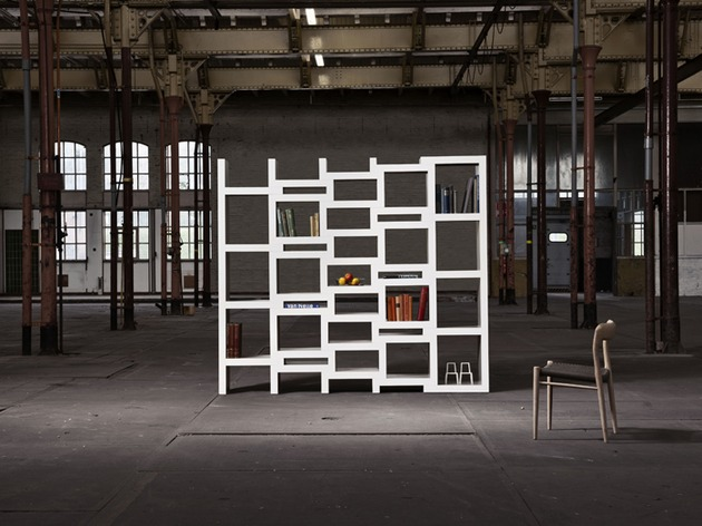 rek expanding bookcase original and junior 2 thumb 630x472 22223 REK Expanding Bookcase by Reiner de Jong