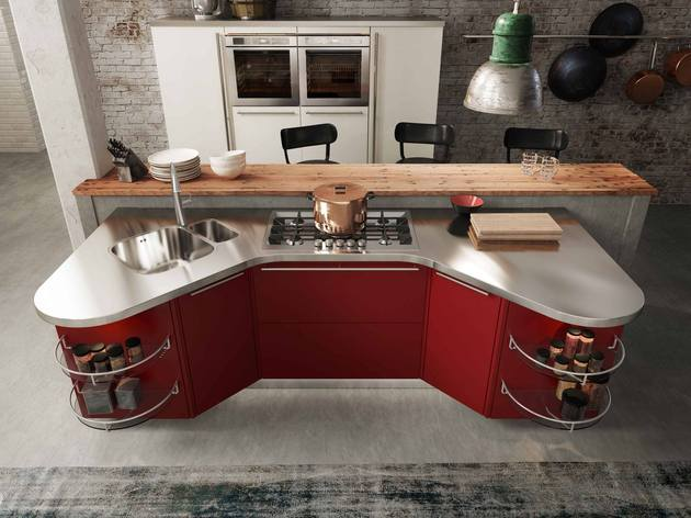 suspended kitchen skyline 2.0 by snaidero 2 thumb 630x472 18468 Suspended Kitchen Skyline 2.0 by Snaidero