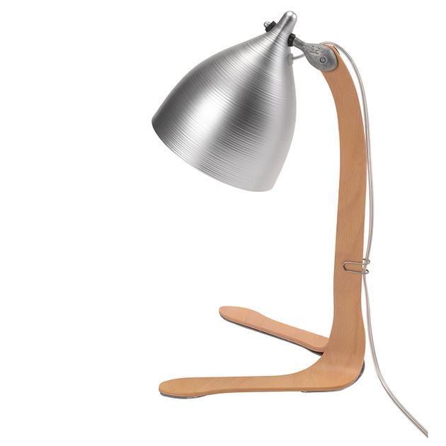 aluminum table lamp on plywood legs by tse tse 2 thumb 630x630 23187 Aluminum Table Lamp on Plywood Legs by Tse Tse
