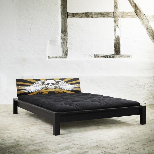 awesome metal rock bed headboard 2 thumb 630x630 24686 Awesome Metal Rock Bed Headboards from Design Folia