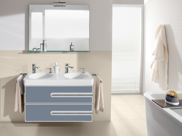 customizable bathroom furniture joyce by villeroy and boch 1 thumb 630x472 24126 Customizable Bathroom Furniture Joyce by Villeroy and Boch