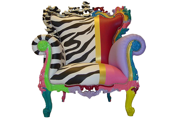 multicolor armchair from fuiano fit for a queen 1 thumb 630x420 24048 Multicolor Armchair from Fuiano: Fit for a Queen