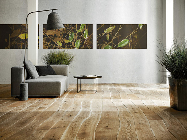 how to cut curves in hardwood flooring