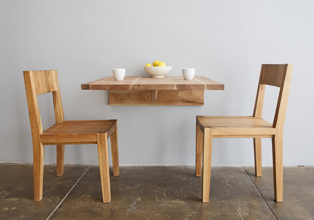 Organic And Minimalist Solid Wood Furniture By Mashstudios