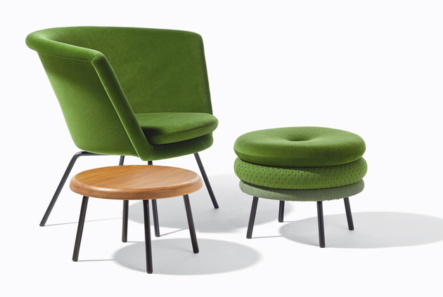 padded chairs stools and footstools%20by richard lampert 1 thumb 630x423 24477 Padded Chairs, Stools and Footstools by Richard Lampert