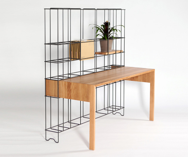 desk shelves combo by gompf and kehrer 2 thumb 630x525 27001 Desk Shelves Combo by Gompf and Kehrer