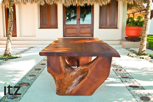 zapote table by itz mayanwoodfurniture made from salvaged wood 1 thumb 630x419 29674 Gorgeous Salvaged Wood Dining Table