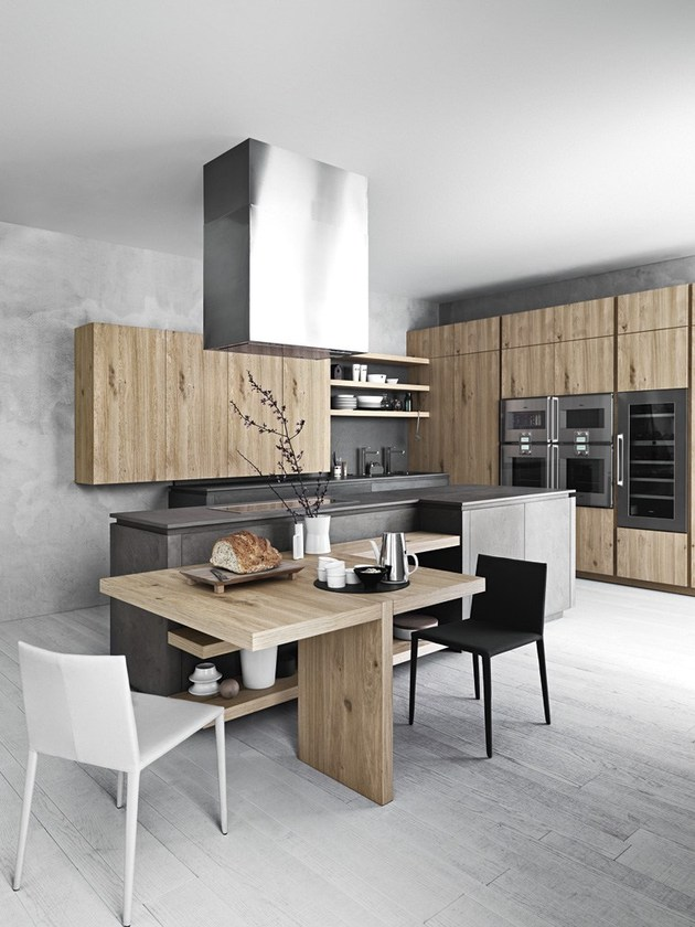 chloe mimialist knotted oak kitchen from cesar 1 thumb autox840 37585 Cloe: Mimialist Knotted Oak Kitchen from Cesar
