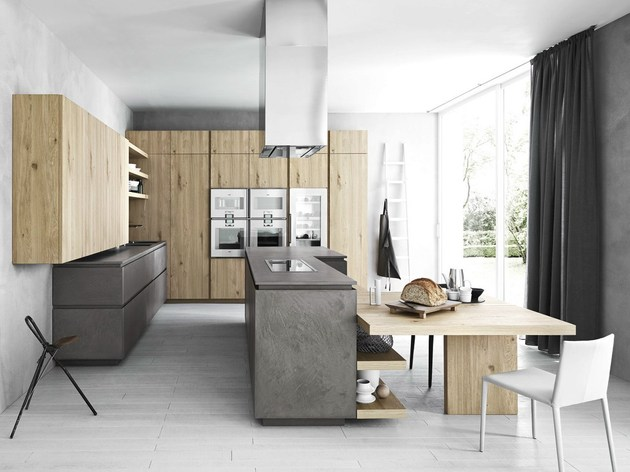 chloe mimialist knotted oak kitchen from cesar 2 thumb 630xauto 37587 Cloe: Mimialist Knotted Oak Kitchen from Cesar
