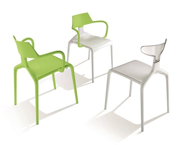 colourfully dynamic stackable shark chairs green 1 thumb 630xauto 36286 Colorfully Dynamic Stackable Shark Chairs by Green