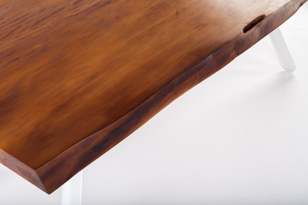contemporary table built from ancient kauri wood 2 thumb 630xauto 38027 Contemporary Table from 50,000 Year Old Kauri Wood