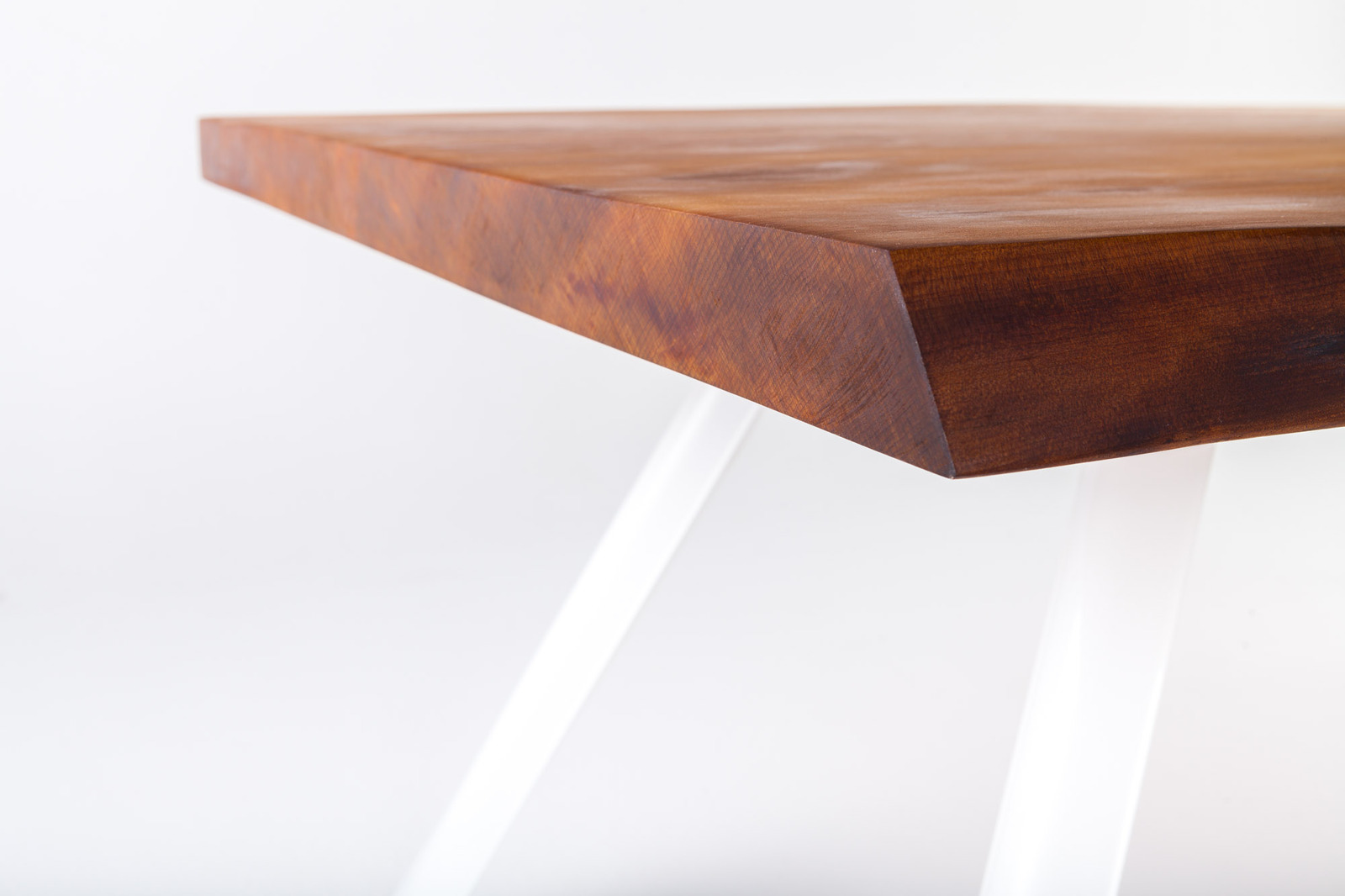 Awesome View In Gallery Contemporary Table Built From Ancient Kauri Wood 5.