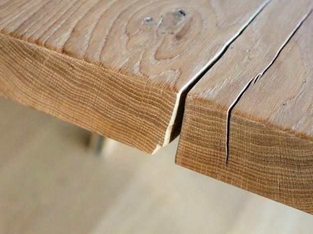 stunning table 350 year oak braun and braun 2 thumb 630xauto 36308 Stunning Table from 350 Year Old Oak by Braun and Braun