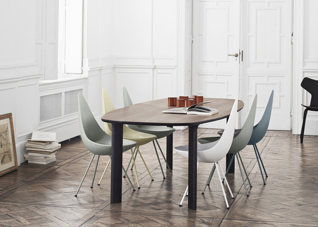 analog table and drop chair by jaime hayon 1 thumb 630xauto 38777 Analog Table and Drop Chair: Republic of Fritz Hansen