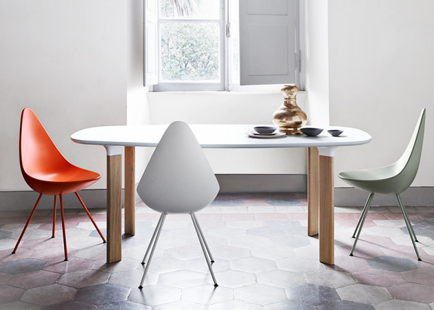 analog table and drop chair by jaime hayon 2 thumb 630xauto 38778 Analog Table and Drop Chair: Republic of Fritz Hansen
