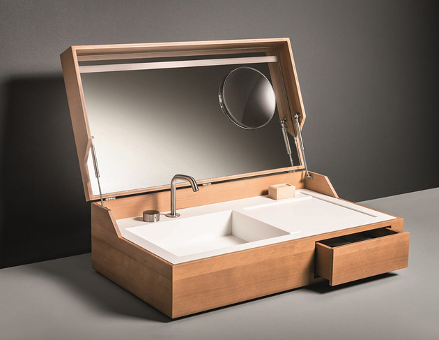 bathroom sink in a box hidden by makro 2 thumb 630xauto 39359 Bathroom Sink in a Box: Hidden by Makro