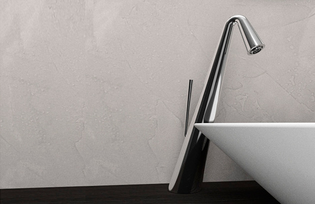cone faucets by gessi contemporary art for the bathroom 2 thumb 630xauto 40529 Cone Faucets by Gessi: Contemporary Art for the Bathroom