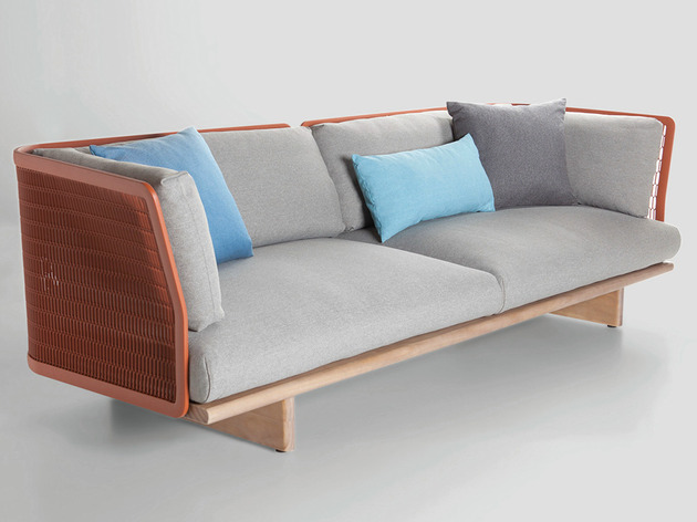 metal mesh garden sofa by patricia urquiola for kettal 2 thumb 630xauto 40521 Metal Mesh Garden Sofa by Patricia Urquiola for Kettal