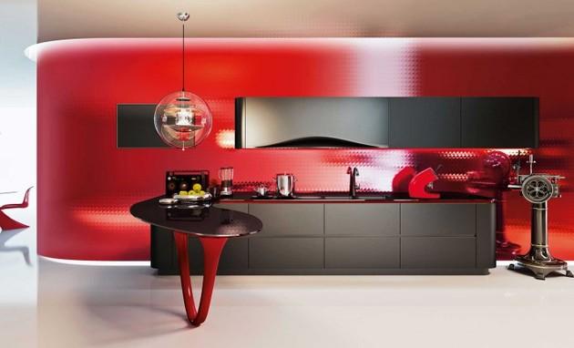 limited edition pininfarina kitchen by ferrari 1 thumb 630xauto 42990 OLA 25 Limited Edition   a Snaidero brand kitchen designed by Pininfarina