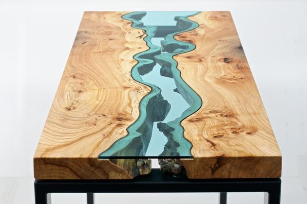 a river runs through greg klassen living edge tables 1 thumb 630xauto 45285 A River Runs Through Greg Klassen Living Edge Tables