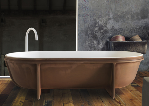 falper controstampo freestanding bathtub 1 thumb 630xauto 47606 Stunning Bathtub by Falper Exposes Everything