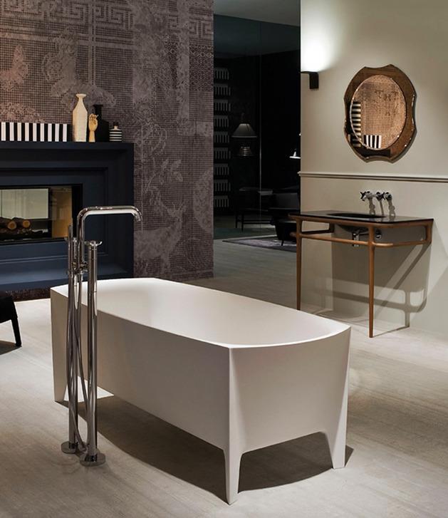 freestanding modern bathtub by mario ferrarini 1 thumb autox727 49311 Freestanding Modern Bathtub by Mario Ferrarini