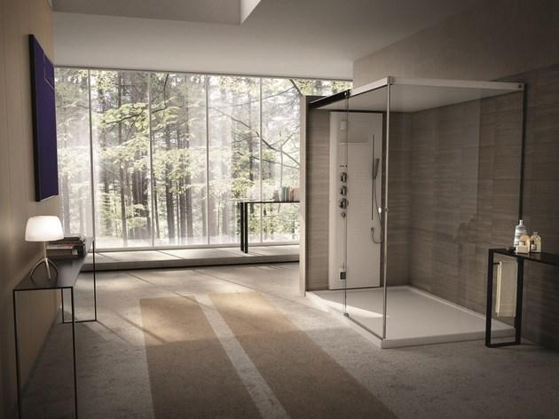 light tueco completely enclosed shower stall 1 thumb 630xauto 48436 Light by Tueco is a Completely Enclosed Shower Stall