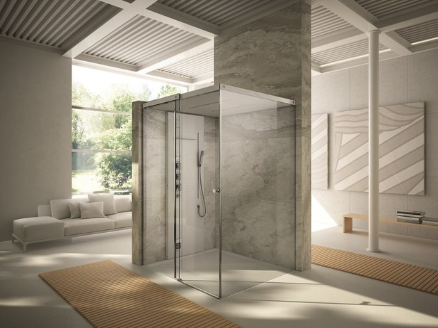 light tueco completely enclosed shower stall 2 thumb 630xauto 48439 Light by Tueco is a Completely Enclosed Shower Stall