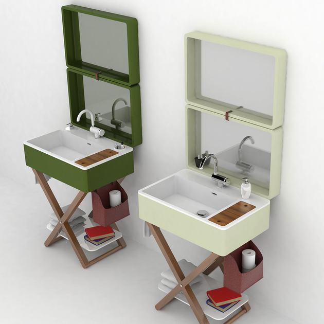 my bag bathroom olympia 1 thumb 630xauto 48790 Bathroom in a Suitcase: My Bag by Olympia