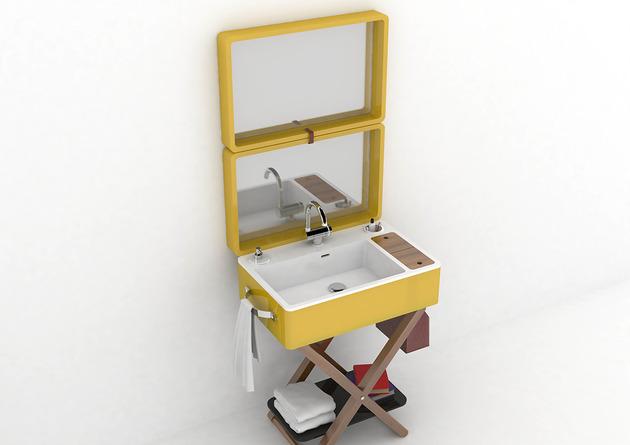 my bag bathroom olympia 2 thumb 630xauto 48792 Bathroom in a Suitcase: My Bag by Olympia