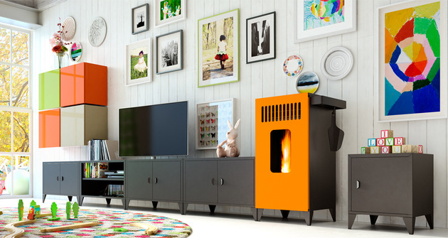 modular pellet stove furniture mia by olimpia splendid 1 thumb 630xauto 51046 Modular Pellet Stove Furniture MIA by Olimpia Splendid