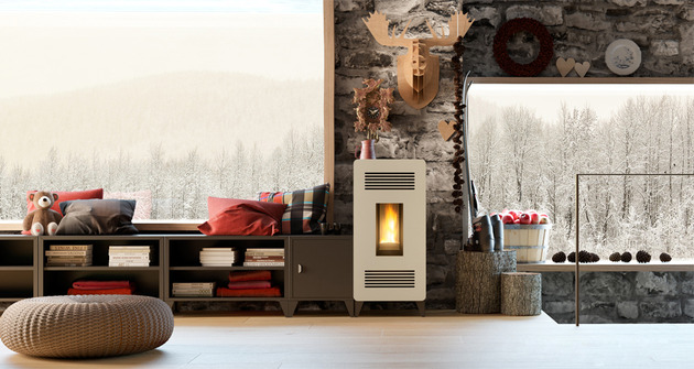 modular pellet stove furniture mia by olimpia splendid 1a thumb 630xauto 51048 Modular Pellet Stove Furniture MIA by Olimpia Splendid