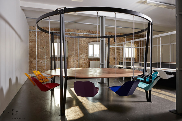 round swing table dubbed king arthur by duffy london 1 thumb 630xauto 51058 Round Swing Table King Arthur by Duffy London