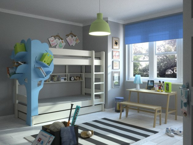 adorable kids bookcase from mathy by bols 1 thumb 630xauto 51940 Adorable Kids Bookcase from Mathy by Bols