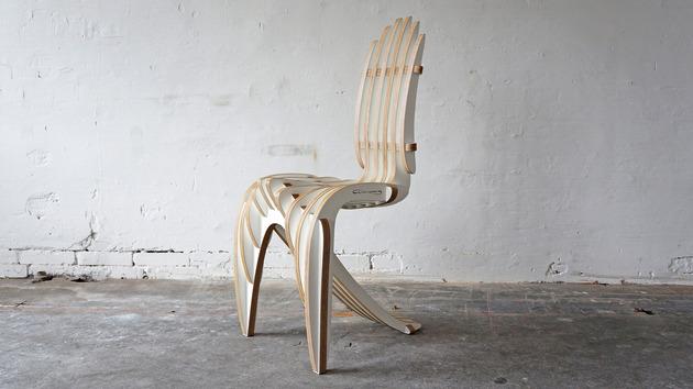 laminated birch veneer furniture by peter qvist 1 thumb 630xauto 51888 Laminated Birch Veneer Furniture by Peter Qvist