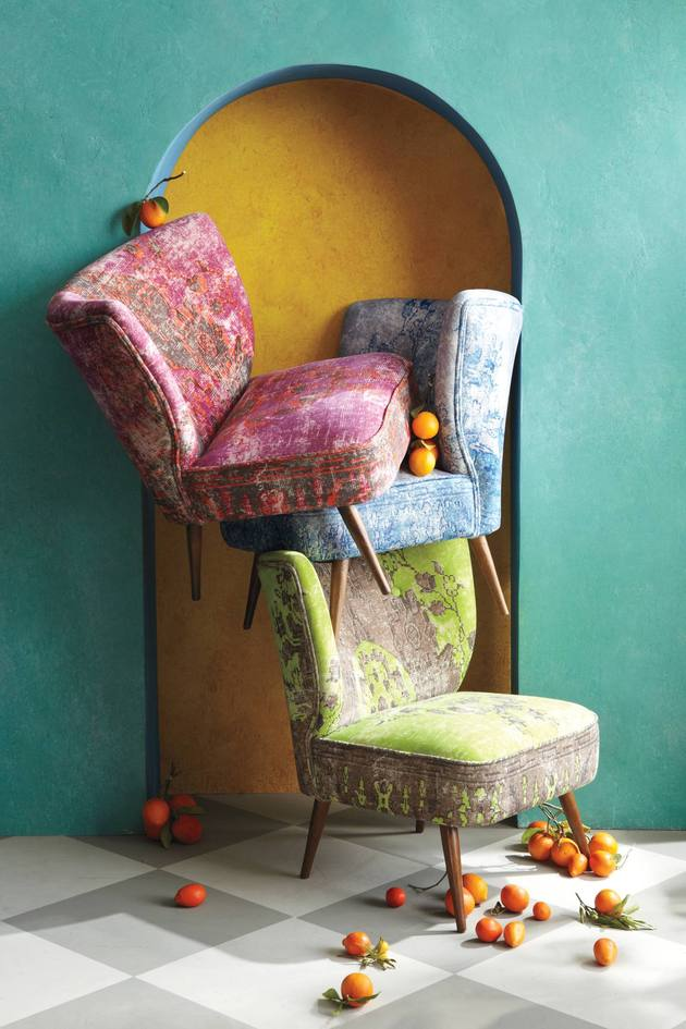 moresque occasional chairs anthropologie 1 thumb autox945 51302 These Washed Velvet Beauties are Moresque Chairs by Anthropologie