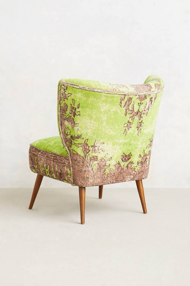 moresque occasional chairs anthropologie 2%20 thumb autox945 51304 These Washed Velvet Beauties are Moresque Chairs by Anthropologie