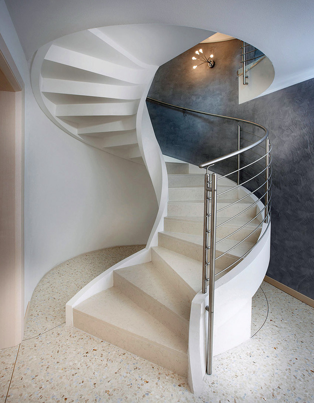 spiral staircases in lightweight concrete by rizzi 2 thumb autox806 51910 Spiral Staircase in Lightweight Concrete by Rizzi