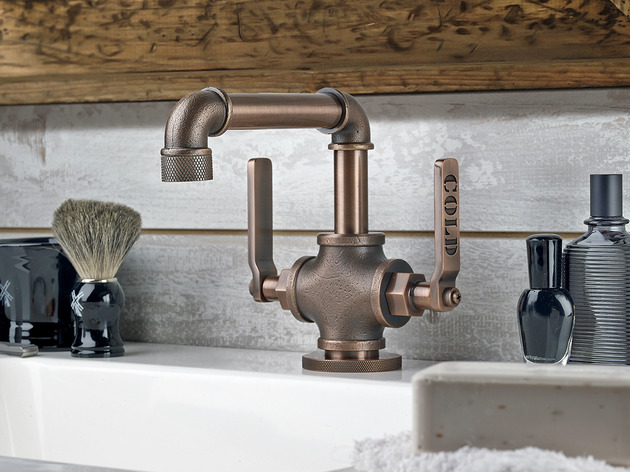 watermark elan vital bathroom lavatory sink faucet 1 thumb 630xauto 51590 Industrial Style Faucets by Watermark to Give Your Plumbing the Cool Look You Always Wanted