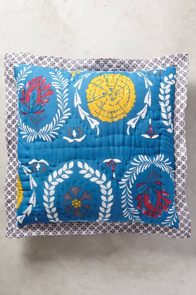 zocalo embroidered quilt anthropologie 2a thumb autox945 51306 Beautiful Embroidered Quilt Zocalo by Anthropologie
