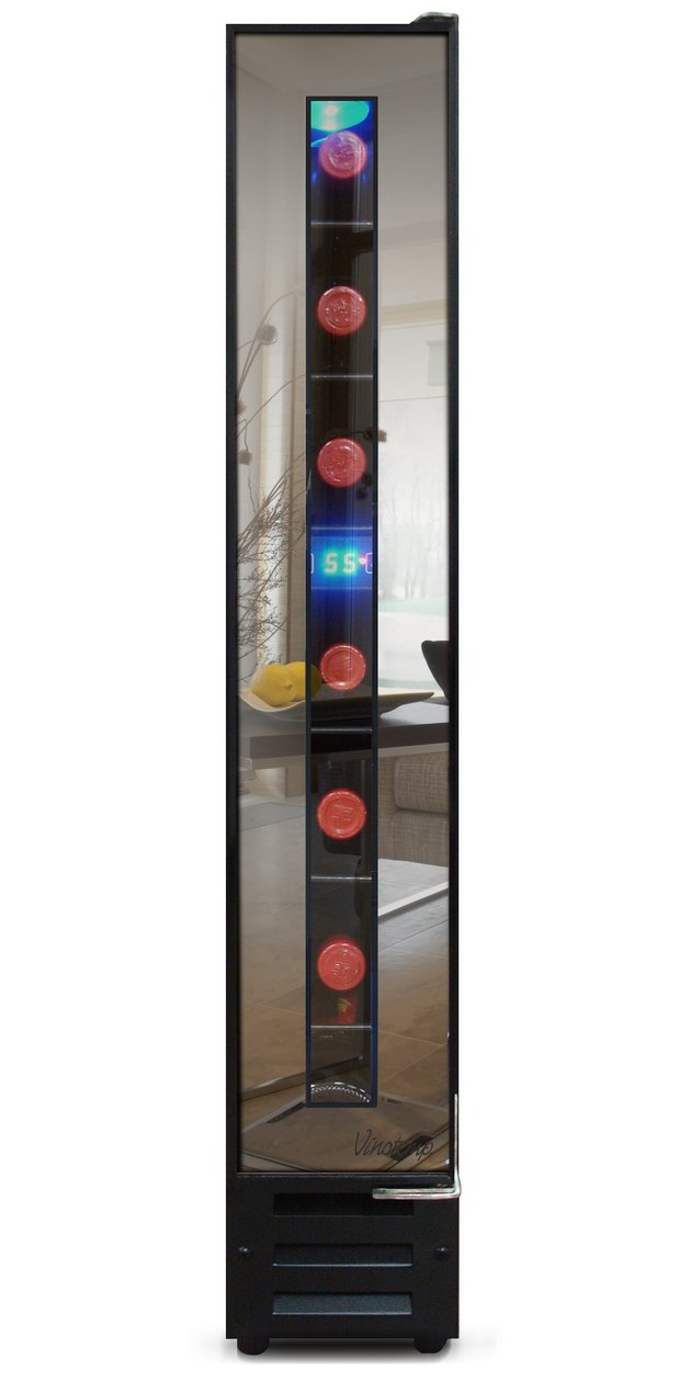 narrow wine cooler%20by vinotemp saves space and looks cool 1 thumb autox1260 52114 Narrow Wine Cooler by Vinotemp Saves Space and Looks Cool