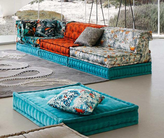 roche bobois mah jong sofa in jean paul gaultier designed upholstery 2 thumb 630xauto 52084 Roche Bobois Mah Jong Sofa in Jean Paul Gaultier Designed Upholstery