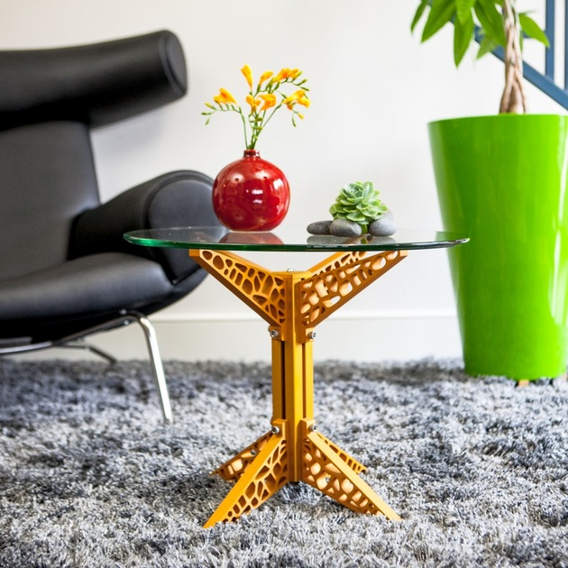 industrial metal coffee table by craft modern 2 thumb 630xauto 54205 Funky Industrial Coffee Table by Craft Modern