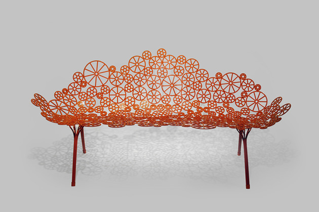 laser cut metal furniture estrella fernando humberto campana 1 thumb 630xauto 53482 Laser Cut Metal Furniture Estrella by Fernando and Humberto Campana for A Lot Of Brasil