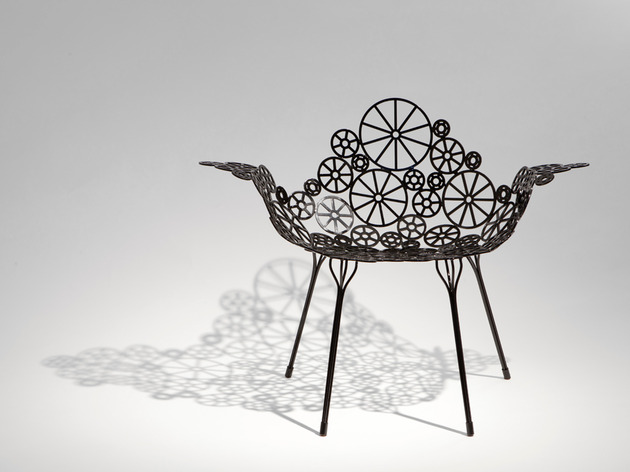 laser cut metal furniture estrella fernando humberto campana 2 thumb 630xauto 53484 Laser Cut Metal Furniture Estrella by Fernando and Humberto Campana for A Lot Of Brasil
