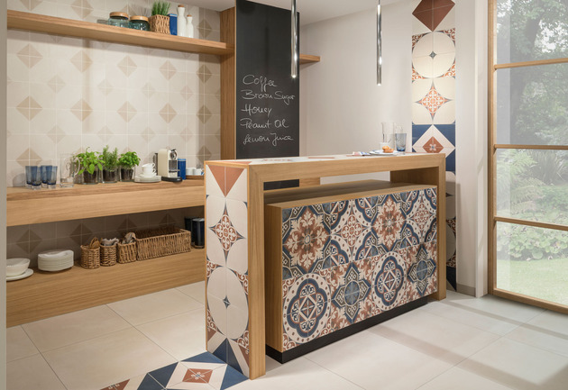 Porcelain stoneware tiles by villeroy and boch century for Carrelage villeroy