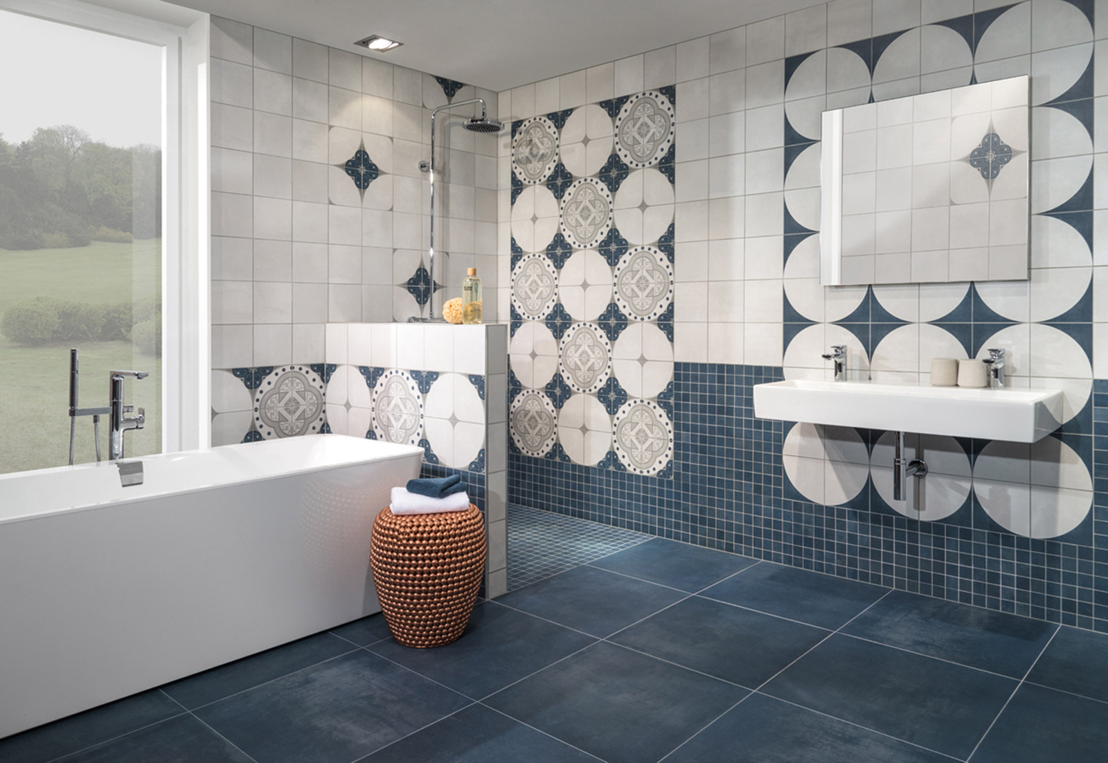 View In Gallery Porcelain Stoneware Tiles By Villeroy Boch 2 Thumb 630xauto 53690 And
