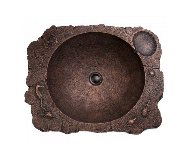 rustic bronze casted sinks santa fe by domain industries 1 thumb 630xauto 53712 Rustic Bronze Casted Sinks   Santa Fe by Domain Industries