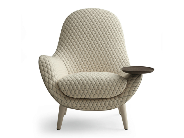 lounge armchair mad king 2 soft upholstery thumb 630xauto 54291 Lounge Armchair Mad King by Marcel Wanders for Poliform